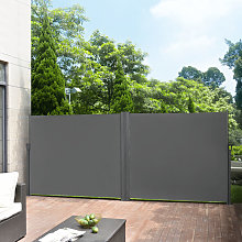 Paravento estraibile esterno doppio - 180 x (2 x