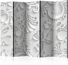 Paravento Flowers with Crystals II Room cm 225x172