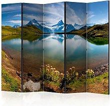 Paravento Lake with mountain reflection cm 225x172