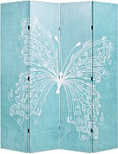 Paravento Pieghevole 160x170 cm Stampa Farfalla