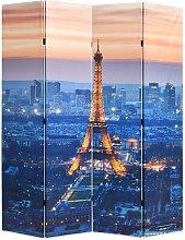Paravento Pieghevole 160x170 cm Stampa Parigi di