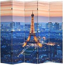 Paravento Pieghevole 200x170 cm Stampa Parigi di