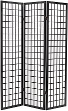 Paravento Pieghevole 3 Pannelli Stile Giapponese