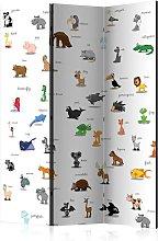 Paravento separé - animals (for children) [Room