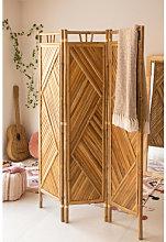 Paravento Stanly Bamboo Bambù Sklum