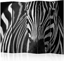Paravento White with black stripes II R cm 225x172