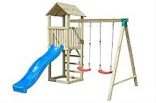Parco giochi gioco bambino torre scivolo altalena