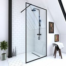Parete doccia italiana 100x200 Glass in vetro 6mm