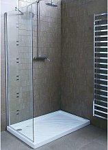 Parete per doccia 90x200cm cristallo trasparente