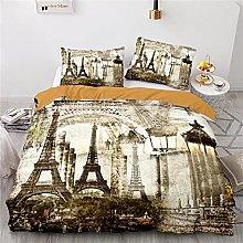 Parigi Torre Eiffel Copripiumino 220X260 Cm