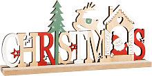 Parola decorativa Natale con decorazione