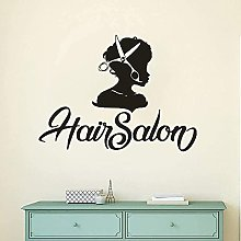 Parrucchiere Adesivo Barber Cut Wall Sticker