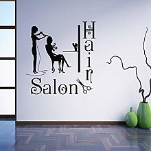 Parrucchiere Segno Adesivo murale Parrucchiere
