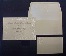 Partecipazioni matrimonio Made in Italy cod. E1671