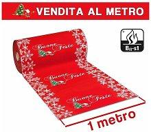 Passatoia Tappeto Natale Natalizia Addobbo Buone