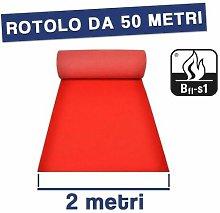 Passatoia Tappeto Nuziale Rosso H 2Mt Matrimonio