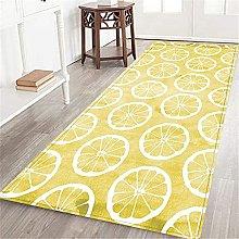 PATINISA Tappeto cucina,Modello acquerello limone