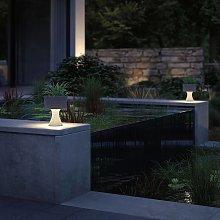 Paulmann Concrea lampada LED deco, vaso piante