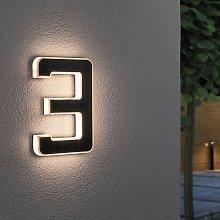 Paulmann lampada LED solare numero civico 3