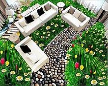 Pavimenti 3D Grassland È Carta Da Parati In Pvc