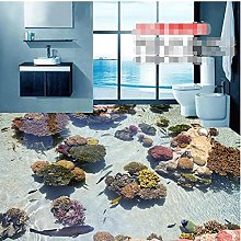 pavimento pittura murale bagno HD Coral Modern Art