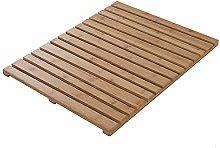 Pedana Doccia Antiscivolo in bambù - Rettangolare