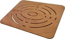 Pedana doccia antiscivolo legno marino 54x68 per