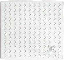 Pedana Doccia Camelia in Pvc 48,5 x 48,5 cm Bianco