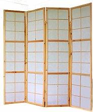 Pegane - Paravento giapponese Shoji in legno