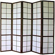 Pegane - Paravento giapponesi grandi vetri bosco