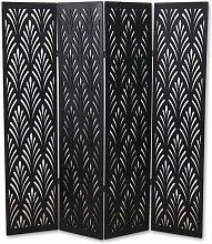 Pegane - Paravento in legno composito colore negro