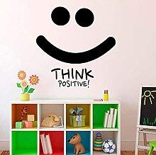 Pensiero Positivo Sorriso Adesivo Murale Citazioni