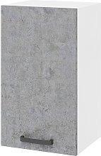 Pensile cucina 40x32xH72 in legno Bianco