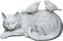 per Interni All'Aperto Gatto Statua