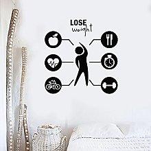 Perdere peso Adesivo Dieta Allenamento Fitness