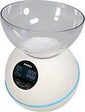 Perel Bilancia da Cucina Digitale 5 kg Bianca