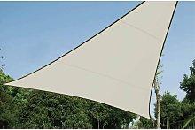 Perel Vela Parasole Triangolare 3,6 m Crema GSS3360