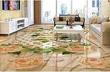 Personalizzato 3d pavimenti in vinile adesivo