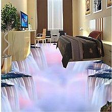 Personalizzato 3D Pavimento Murale Cascata Acqua