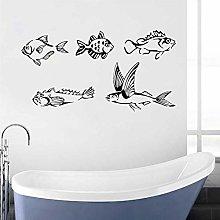 Pesci Adesivo murale Marine Pesce del Vinile