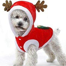 Pet Cane / Gatto Inverno Costume natalizio Costume