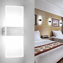 Pezzi applique da parete a LED per interni 12W