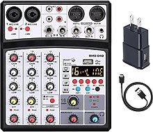 PFDTS Mini mixer Bluetooth a 4 Scheda audio Audio