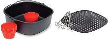 PHILIPS Kit Per Cottura Hd9952/00 Teglia Da Forno