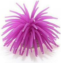 Pianta Finta Corallo Silicone Color Viola