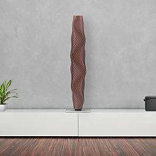 Piantana LED intreccio Cactus 75cm, rame