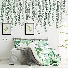 Piante verdi Eucalipto Foglie di vite Adesivo da