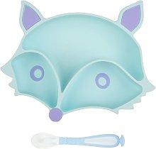 Piastra per neonati in silicone Ventosa Piastra