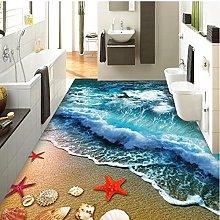 Piastrelle per pavimenti 3D Beach Sea Wave Foto