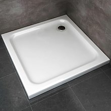 Piatto Doccia 80x80x5 cm Quadrato Abs mod. Selene
